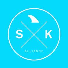 Surf Kite Alliance - Logo by Dirk Ollmann, via Behance