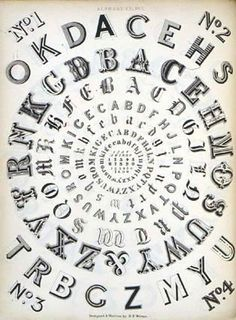 Victorian Typefaces