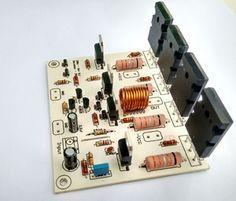 Placa Para Amplificador 200w Rms Potencia Caixa Ativa Potente
