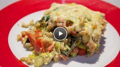Mac & cream - recept | 24Kitchen courgette, paprika, prei, ham, roomkaas
