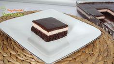 Çikolata Soslu Çilek Pudingli Pasta