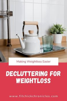 Decluttering for Weight loss – remove the overwhelm and attack weight loss from a good place. Lose Weight At Home, Trying To Lose Weight, Ways To Lose Weight, Weight Gain, Weight Loss Tips, Fitness Tips, Fitness Challenges, Fitness Goals, Declutter Your Life