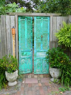 maybe I can find some old shutters for the Porch entrance and make it so they can stay open!