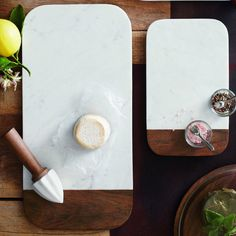 Marble and Sheesham wood cheese boards with rounded corners and beveled edges. Small measures: x x Large measures: 16 x x Hand wa Marble Cheese Board, Cheese Boards, Home Decor Accessories, Kitchen Accessories, Chopped Cheese, Cafe Branding, Board Shop, Marble Wood, Home Goods