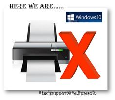 {#EllipsesoftTechSupport} #Printer_Support We remove #Windows10 & Printer Link Issues Call Toll Free:1-888-333-9003 www.ellipsesoft.com