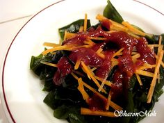 Korean Chili Seaweed Salad