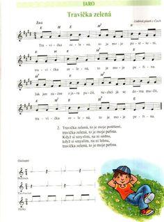 Doremi 1 - Zpěvník pro předškoláky - Marie Lišková - Ráj-not. Ukulele, Sheet Music, Singing, Preschool, Songs, Musica, Projects, Kid Garden, Kindergarten