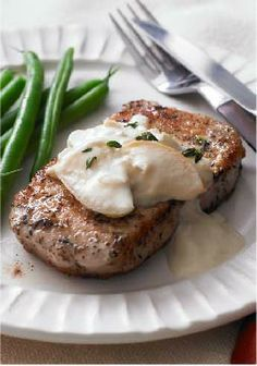 Even With The Freshly Sliced Apples This Pork Chops With Apples Creamy Mustard Sauce Is Still A Quick Weeknight Dish Rated 5 Stars Too