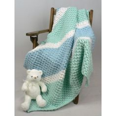 Free Easy Baby's Blanket Knit Pattern