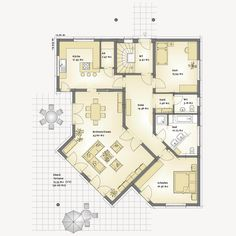 Rund ums Haus Versailles - Büttner Festhaus Man Earring: a Radiantly Macho Trend Article Body: These Studio Floor Plans, Bungalow Floor Plans, Apartment Floor Plans, Small House Plans, House Floor Plans, Versailles, Casa Patio, Apartment Communities, Home Budget