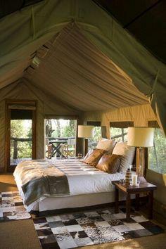 Dormitorio africano