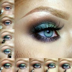 Sleek Garden of Eden eye tutorial Sleek Palette, Beauty Makeup, Eye Makeup, Smoky Eyes, Sleek Makeup, Garden Of Eden, Eye Tutorial, Make Me Up, Face Art
