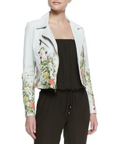 embroidered leather jacket - Google Search