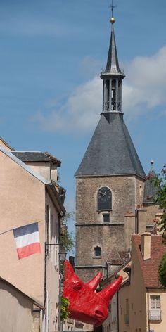 Avallon (Yonne 89) #Yonne #Bourgogne # France - Family in the region.