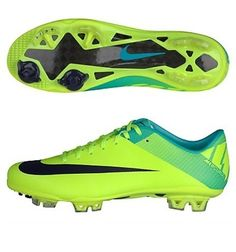 nike mercurial vapor superfly iii fg mens soccer cleats in volt/retro/imperial purple