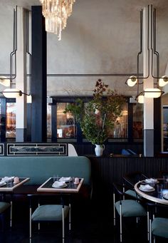 Gwen | by Home Studios | restaurant design | art deco