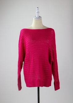 Fuchsia Luxe Sweater Girl Gang, All The Colors, Black Pants, White Jeans, Colour, Pullover, Denim, Knitting, Sweaters