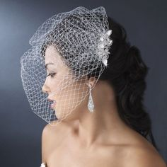 How To Make Your Own Hair Fascinator With Bird Cage Veil For Your Wedding | HubPages