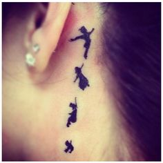"""Peter pan- I would want this but with the quote """" to die, would be an awfully great adventure"""""""