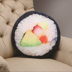 Awesome Sushi Pillow - http://1uptreasures.com