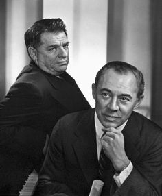 Richard Rodgers & Oscar Hammerstein (composers) 1950, by Yousuf Karsh.