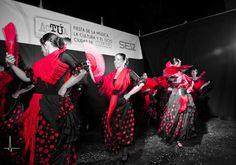 Flamenco en el escenario del Paseo del Parque.