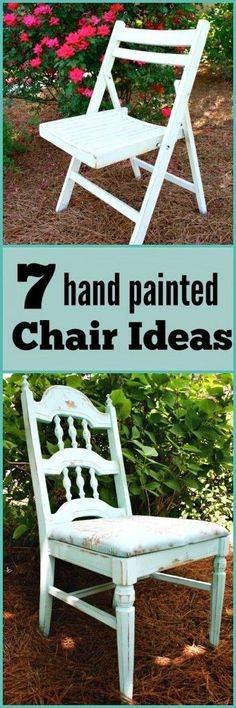 Hand Painted Chair I