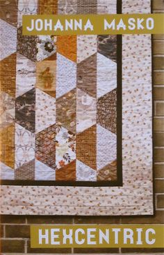Half-hexagon quilt pattern (to purchase)