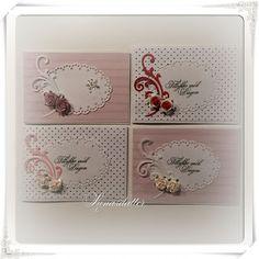 Lunasdatters Scrapbooking: Mini kort
