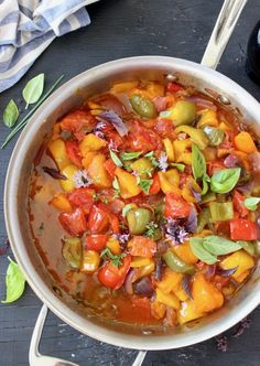 Traditional Italian Peperonata Sauce
