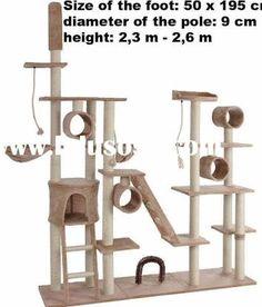 Image result for cat tree design plans