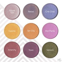 The party has arrived! Makeup Geek just added 9 new SHIMMER eyeshadows to their range!