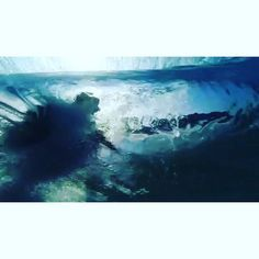 The best underwater shot I've ever seen was taken by #DonKing of #TimmyCurran at Teahupo'o back in '96 on a trip we did for a movie called Quiksilver Country. In the shot, you think you're looking at an image of the Valley until you see the lip fall over and Timmy come flying through the barrel and realize it's from underwater. Timmy and I had Teahupo'o completely to ourselves that day for about 6 hours as @thomasvictorcarroll had broken his eardrum the day before when his surfboard speared…