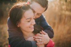 Engagement Shooting. Beautiful Couple in the reeds with backlight = best combination ♥ Photography | A TALE OF TWO HEARTS