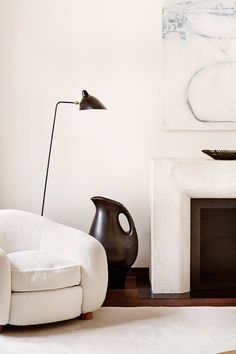 a muted palette - urbnite: Serge Mouille Floor Lamp Decoration Inspiration, Interior Design Inspiration, Design Ideas, Design Blogs, Design Design, Design Trends, Interior Architecture, Interior And Exterior, Modern Luxury
