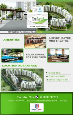 The Leaf by Kothari Brothers and Scapers most trusted builder in pune location.book this 2BHK stylish flats by kothari brothers. visit: http://www.propertypointer.com/the-leaf/off-katraj-kondhwa-road/pune/builder