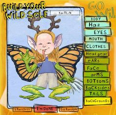 """SO CUTE- This site teaches animal adaptations by letting you build your own creature. """"Build Your Wild Self."""" My kids would love this!:"""