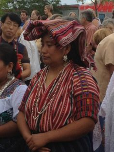 The indigenous Mayan women of the province of Solola, near Lake Atitlan continue to weave their traditional blouses, shawls, and skirts from handspun and naturally-dyed cotton on backstrap looms. Featured at the 2012 Santa Fe Folk Art Market.
