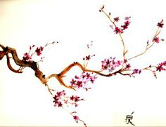 Sakura tree - watercolour: tattoo inspiration