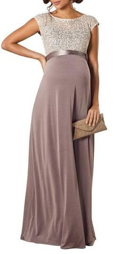 Tiffany Rose Mia Maternity Gown #maternity#ad