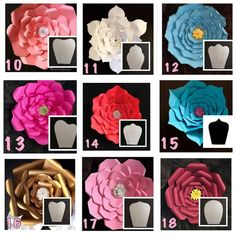 "27 Likes, 1 Comments - paper flower Almadinah (@paper_flowers123) on Instagram: ""أشكال الورد"""