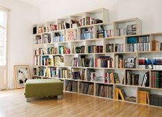 shelf love...the possibilities with this many shelves!