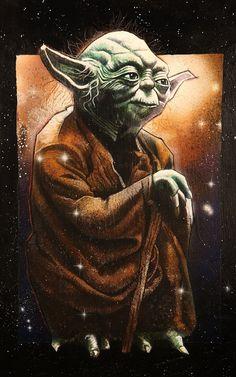 Yoda Comic Art