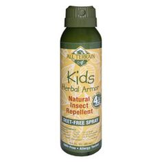 Health & Beauty Natural Insect Repellent All Terrain Herbal Armor Kid Spray (3 Oz) ResellerHub.store