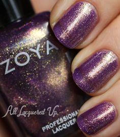 Throwback Thursday – Zoya Diva Fall 2012 Nail Polish Swatches