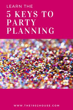 want to throw a memorable party with minimal stress learn how a