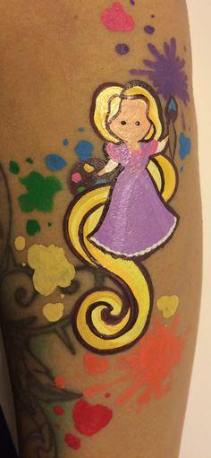 Princess (Repunzel) Forearm Art