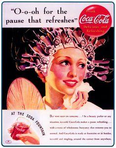 retro de Coca Cola