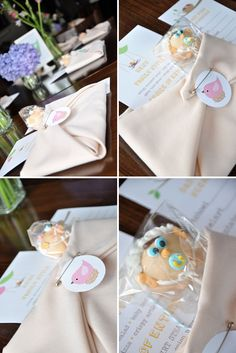 Napkins folded like a diaper - Baby Shower ideas galore.. looks like i found the perfect idea @Victoria Brown Brown Zeolla