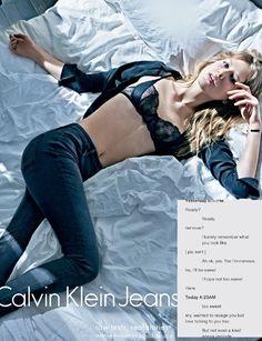 Conversas reais do Tinder são reveladas em campanha hot da Calvin Klein (Foto: Divulgação)